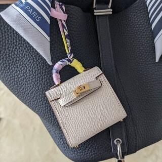 最高級手縫い本革チャーム バックチャーム 本革 レザーチャーム バッグ ツイリー