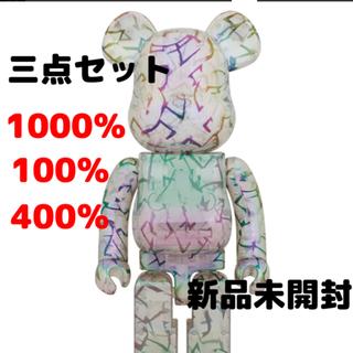 MEDICOM TOY - BE@RBRICK JIMMY CHOO 100% & 400% 1000%