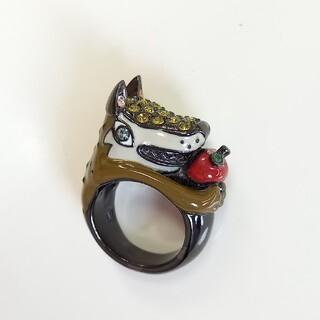 アナスイ ANNA SUI リング 狼 オオカミ 赤ずきん 指輪