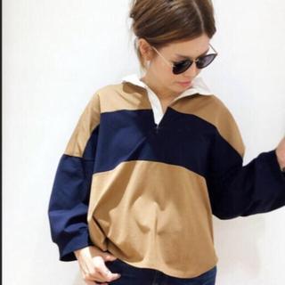 DEUXIEME CLASSE - ドゥーズィエムクラス Americana ラガーシャツ