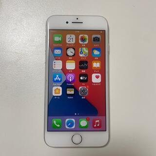 アイフォーン(iPhone)のsimフリー  iPhone8 64gb 電池90% シルバー(スマートフォン本体)