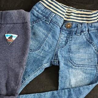 エイチアンドエム(H&M)のガーゼシャツ 2枚セット 90(ブラウス)