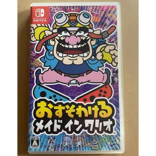 Nintendo Switch - 中古 おすそわける メイドインワリオ Switch 任天堂 ソフト