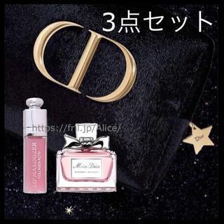 Dior - 3点セット ポーチ フレグランス マキシマイザー ミニ ディオール ホリデー