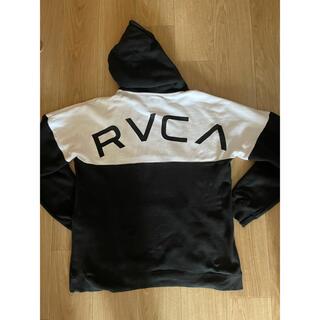 ルーカ(RVCA)のrvca ルーカ パーカー ビッグロゴ スウェット トレーナー オーバーサイズ(パーカー)