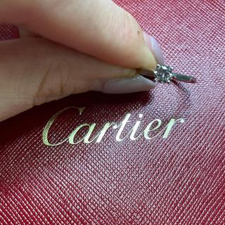 Cartier - Cartier ソリテール リング 0.36ct