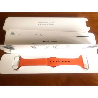 Apple Watch - 新品未使用■アップルウォッチ■エルメス ラバーバンド■38mm 40mm