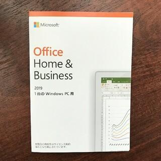 マイクロソフト(Microsoft)のMicrosoft office 2019 Home & Business(PC周辺機器)