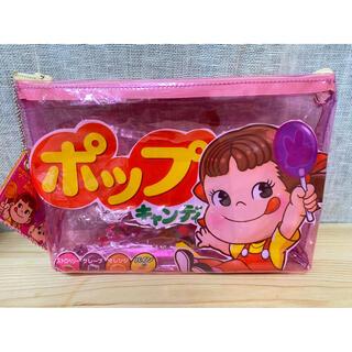 ★ハンドメイド お菓子袋シャカシャカリメイクポーチ チャーム付き ビニールポーチ