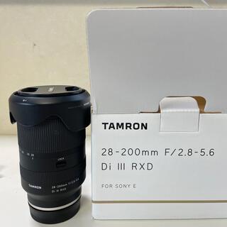 TAMRON - タムロン 28-200mm F/2.8-5.6 Di Ⅲ RXD