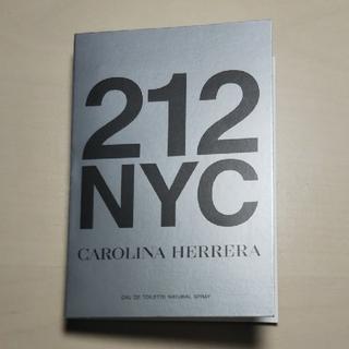 キャロライナヘレナ(CAROLINA HERRERA)のキャロライナ ヘレラ 212 スプレーサンプル(香水(女性用))