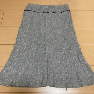 クミキョク(kumikyoku(組曲))のKUMIKYOKU sis ツイードフレアスカート(ひざ丈スカート)