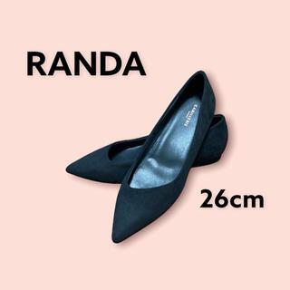 RANDA - 【新品未使用】RANDA パンプス ヒール 26cm