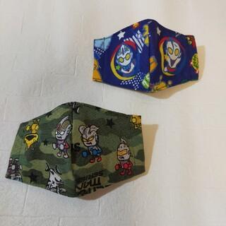 子供用 ハンドメイド インナーマスク
