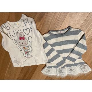 ニットプランナー(KP)の女の子ニットプランナー  トップス2枚セット(Tシャツ/カットソー)