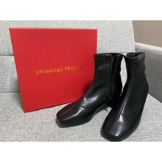 オリエンタルトラフィック(ORiental TRaffic)のスムースストレッチヒールブーツ(ブーツ)