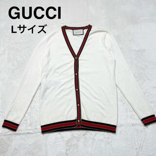 グッチ(Gucci)の極美品 GUCCI  グッチ カーディガン GG  パールボタン(カーディガン)