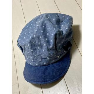 ニットプランナー(KP)のKP ブルー帽子 54(帽子)