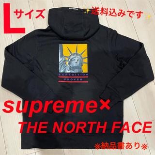 Supreme - 【即完売モデル】シュプリーム×ザノースフェイス☆刺繍ロゴ コラボ パーカー 希少
