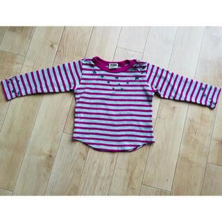 エフオーキッズ(F.O.KIDS)のF.O.KIDS ボーダーロングTシャツ 90(Tシャツ/カットソー)