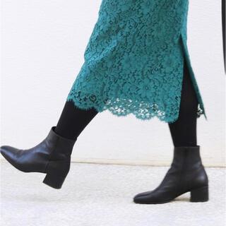 イエナ(IENA)のIENA MADE 94 ショートブーツ ブラック 23.5cm(ブーツ)