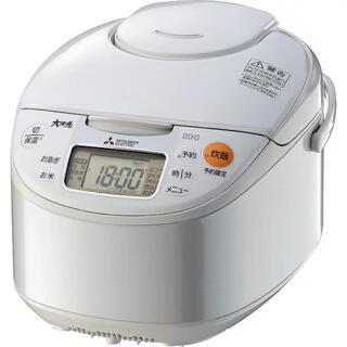 三菱電機 - 三菱電機 IHジャー 炊飯器 5.5合炊き ホワイト NJ-NH106-W