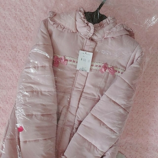 Shirley Temple - シャーリーテンプル うさぎコート ピンク 新品タグ付き