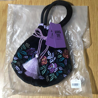 ANNA SUI - ANNA SUI × Francfranc 巾着バッグ アナスイ フランフラン