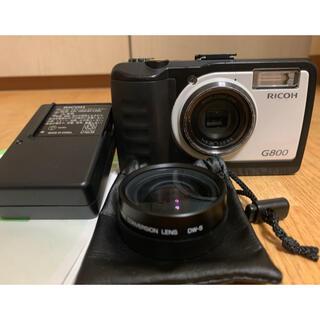 リコー(RICOH)のデジタルカメラ G800 + DW-5(コンパクトデジタルカメラ)
