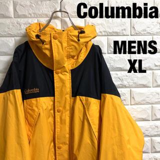 コロンビア(Columbia)のコロンビア マウンテンパーカー   ナイロンジャケット 刺繍 メンズXLサイズ(マウンテンパーカー)