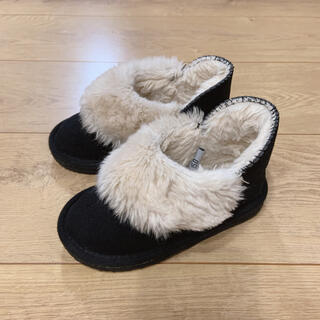 プティマイン(petit main)のプティマイン  ムートンブーツ 15cm(ブーツ)
