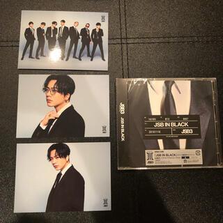 三代目 J Soul Brothers - 【新品】三代目 JSB3 JSB IN BLACK新曲CD&登坂広臣フォトセット