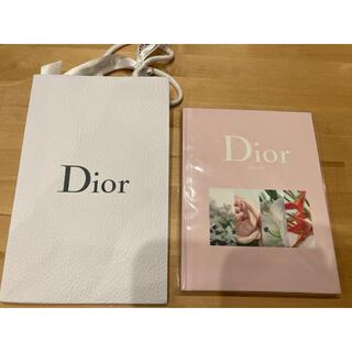 ディオール(Dior)のディオール ノート Dior  紙袋 リボン セット(ノート/メモ帳/ふせん)