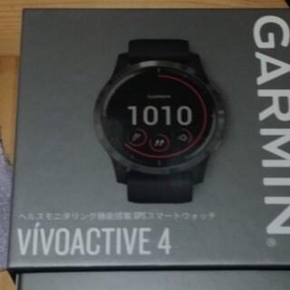 ガーミン(GARMIN)のGARMIN VIVOACTIVE4 ブラックスレート(トレーニング用品)