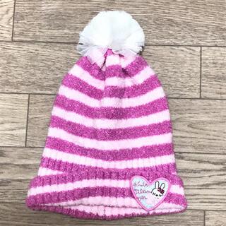 ニットプランナー(KP)の美品 KP DECO ニット帽 サイズS(帽子)