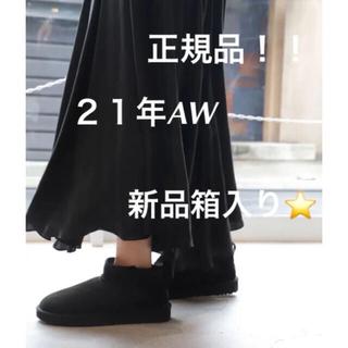 アグ(UGG)の【UGG】正規品!21年AW新品箱入り★Classic Mini ムートンブーツ(ブーツ)