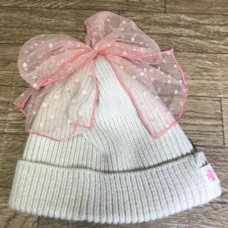 ニットプランナー(KP)の美品 KP DECO  ニット帽 Mサイズ(帽子)