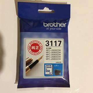 ブラザー(brother)のブラザー 純正 インク LC3117C(PC周辺機器)