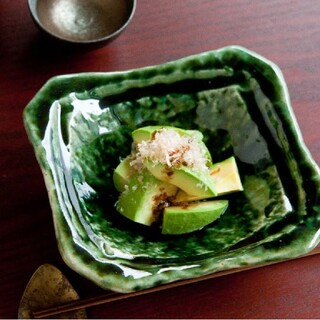 タチキチ(たち吉)の小栗大幸 織部隅切小鉢(食器)