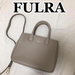 Furla - 美品 FURLA フルラ 2wayハンドバッグ グレージュ