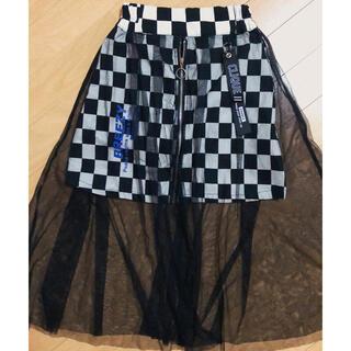 チュール付きスカート サイズ150
