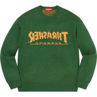 Supreme - Supreme / Thrasher Sweater Green 緑 グリーン