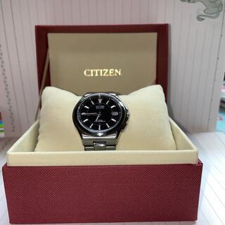 シチズン(CITIZEN)の今週限り値引中 CITIZEN 腕時計アテッサ エコ・ドライブ 電波時計(金属ベルト)