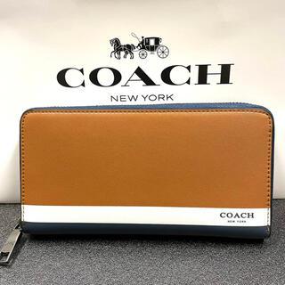 COACH - 新品未使用 COACH コーチ オシャレ 長財布 マルチカラー 男女両用