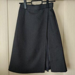クミキョク(kumikyoku(組曲))の組曲 【洗える】ウールライクツイル スカート(ひざ丈スカート)