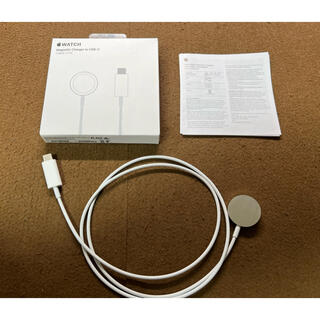 アップルウォッチ(Apple Watch)のApple Watch 純正 充電器(磁気充電ケーブル) 1.0m(バッテリー/充電器)