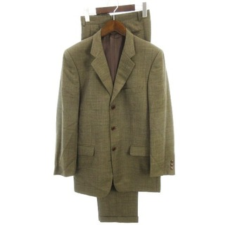 ポールスミス(Paul Smith)のポールスミス スーツ セットアップ シングル ウール 茶系 87 73 170(セットアップ)