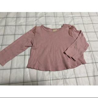 プティマイン(petit main)のプティマイン 長袖Tシャツ 2枚セット(Tシャツ)