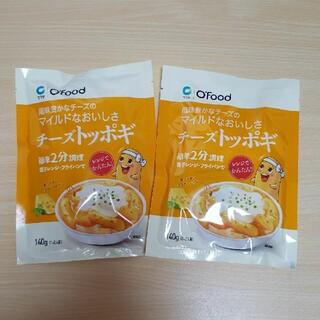 韓国食品☆チーズトッポギ 2袋