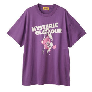 ヒステリックグラマー(HYSTERIC GLAMOUR)の完売 ヒステリックグラマー BEAR AND GIRL オーバーサイズTシャツ(Tシャツ(半袖/袖なし))